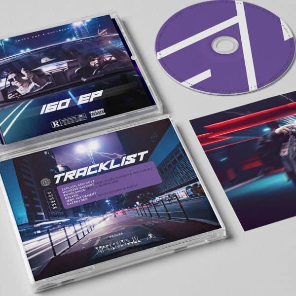 160 EP Kombopack CD + Mikina
