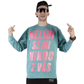 Nikdo ZVás Crewneck (1234 Limited Edition)