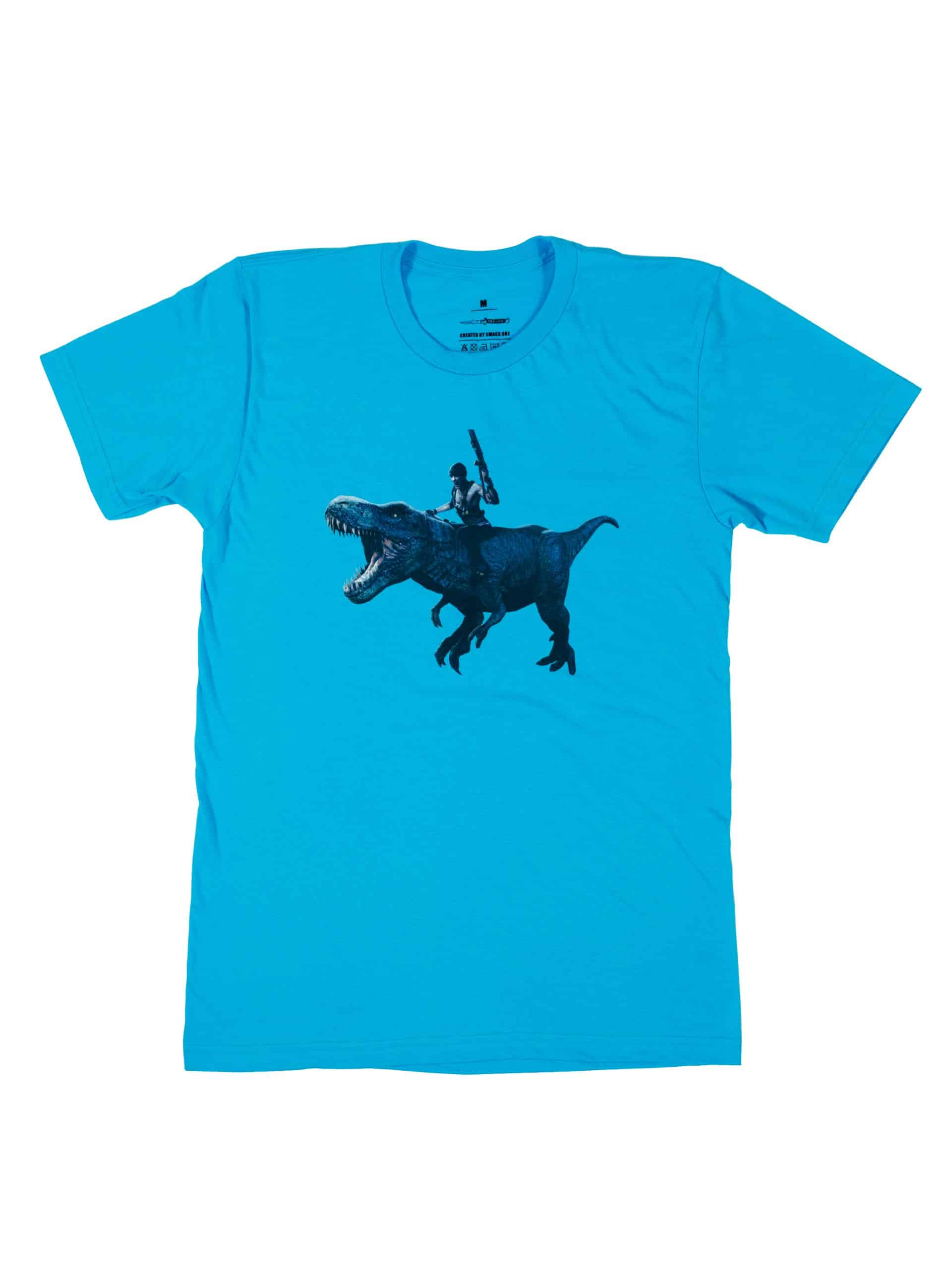 P's A Love 2 T-REX Tee Turquoise