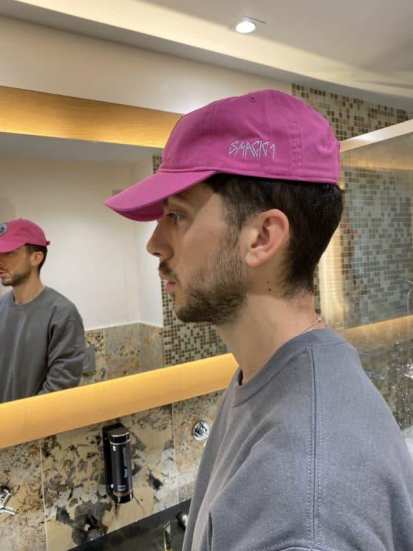 Hotel Collection – Chimera Strapback Raspberry